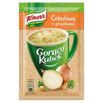 Knorr Gorący Kubek Cebulowa z grzankami 17 g