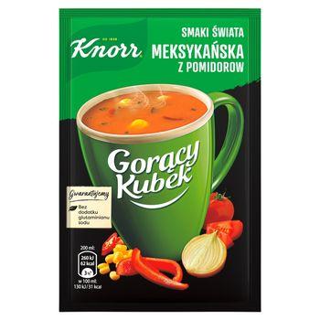 Knorr Gorący Kubek Smaki Świata Meksykańska z pomidorów 18 g