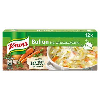 Knorr Rosół drobiowo-warzywny 120 g (12 x 10 g)
