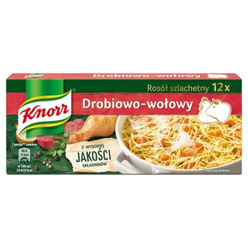 Knorr Rosół wołowy 120 g (12 x 10 g)