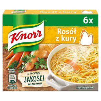 Knorr Rosół z kury 60 g (6 x 10 g)