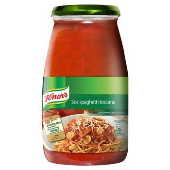 Knorr Sos spaghetti toscana z pieczarkami cebulą i bazylią 500 g