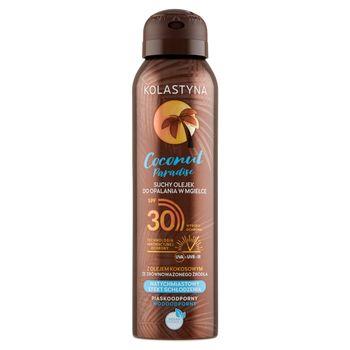 Kolastyna Coconut Paradise Suchy olejek do opalania w mgiełce SPF 30 150 ml
