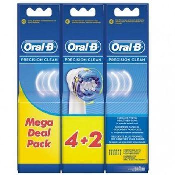 Końcówki Oral-B 6 SZT. Precision Clean EB20-4+2