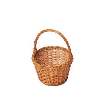 Koszyczek Wiklinowy Wielkanocny 12X30X12 cm