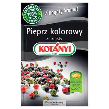 Kotányi Pieprz kolorowy ziarnisty 16 g