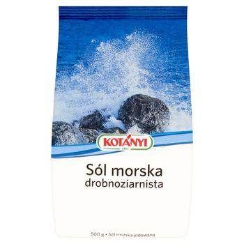 Kotányi Sól morska drobnoziarnista 500 g