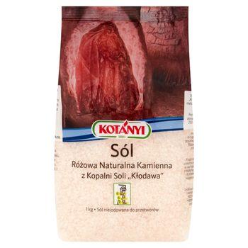 Kotányi Sól różowa naturalna kamienna z Kopalni Soli Kłodawa 1 kg
