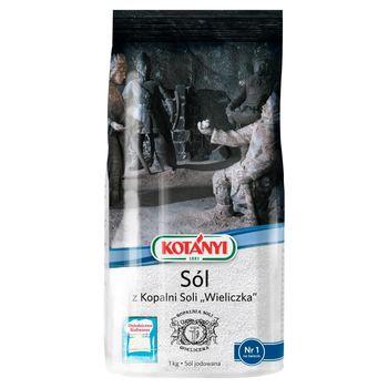 Kotányi Sól z Kopalni Soli Wieliczka 1 kg