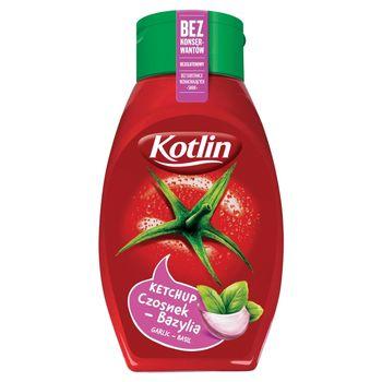 Kotlin Ketchup czosnek-bazylia 450 g