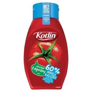 Kotlin Ketchup łagodny 60% mniej kalorii 450 g