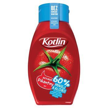 Kotlin Ketchup pikantny 60% mniej kalorii 450 g