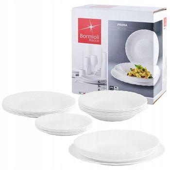 Komplet Obiadowy Bormioli Rocco Prima 18 elementów