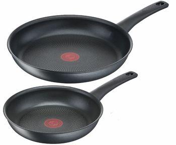 Zestaw 2 Patelni Tefal Easy Chef Grey 22/28 cm