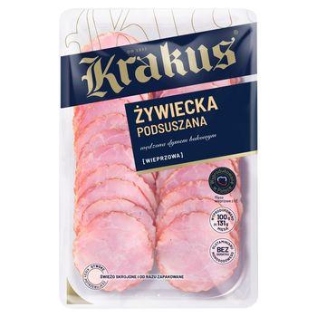 Krakus Kiełbasa żywiecka 80 g (2 x 40 g)