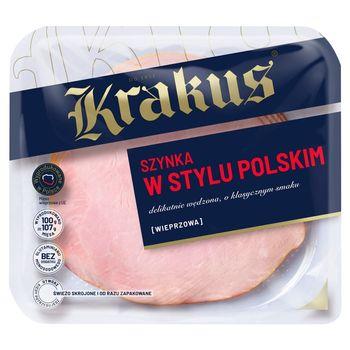 Krakus Szynka w stylu polskim wieprzowa 140 g