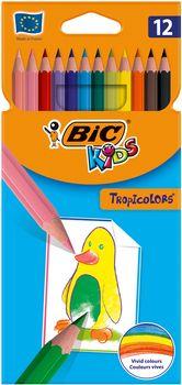 Kredki ołówkowe BIC Tropicolors 12 szt.