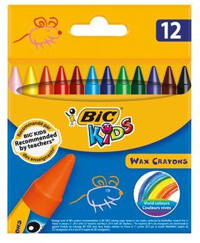 Kredki świecowe BIC Kredki świecowe 12 kolorów