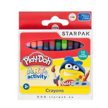 Kredki woskowe Hasbro Play-Doh 12 kolorów
