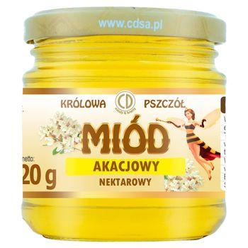 Królowa Pszczół Miód akacjowy nektarowy 220 g