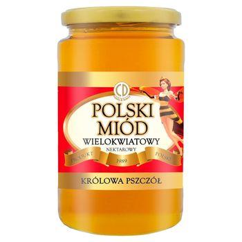 Królowa Pszczół Polski miód wielokwiatowy nektarowy 1 kg