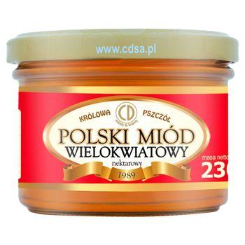 Królowa Pszczół Polski miód wielokwiatowy nektarowy 230 g
