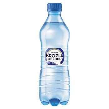 Kropla Beskidu Naturalna woda mineralna gazowana 500 ml