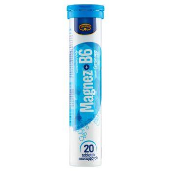 Krüger Suplement diety magnez + B6 smak cytrynowy 80 g (20 sztuk)