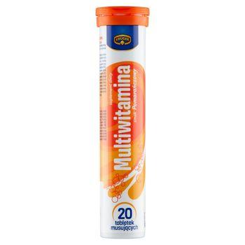 Krüger Suplement diety multiwitamina smak pomarańczowy 90 g (20 sztuk)