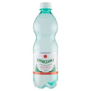Kryniczanka Naturalna woda mineralna wysokozmineralizowana niskonasycona 0,5 l