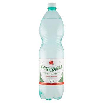 Kryniczanka Naturalna woda mineralna wysokozmineralizowana niskonasycona 1,5 l