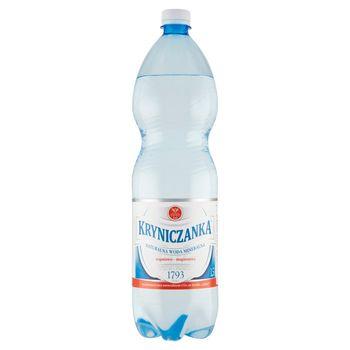 Kryniczanka Naturalna woda mineralna wysokozmineralizowana wysokonasycona 1,5 l