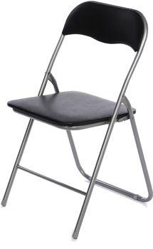Krzesło Składane Home Invest Basic Czarne