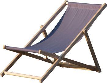 Krzesło Leżak KABEX Bahama Grafit