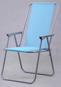 Krzesło plażowe MAXIMA Krzesełko wysokie oparcie