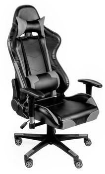 Krzesło TS INTERIOR Proxima Czarno-szary