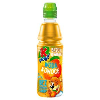 Kubuś Play! Woda & owoce Napój owocowy jabłko brzoskwinia 400 ml