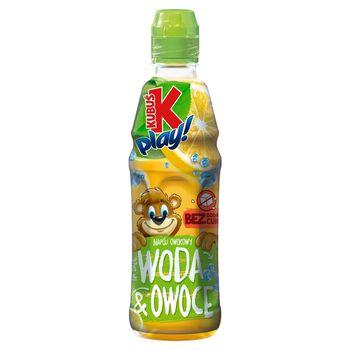 Kubuś Play! Woda i owoce Napój owocowy jabłko cytryna 400 ml