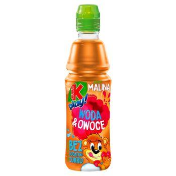 Kubuś Play! Woda & owoce Napój owocowy jabłko malina 400 ml