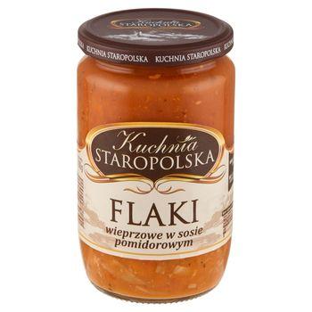 Kuchnia Staropolska Flaki wieprzowe w sosie pomidorowym 700 g