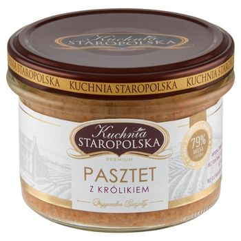 Kuchnia Staropolska Premium Pasztet z królikiem 160 g
