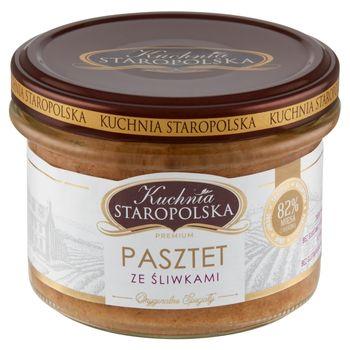 Kuchnia Staropolska Premium Pasztet ze śliwkami 160 g