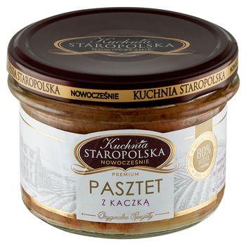 Kuchnia Staropolska Premium Pasztet z kaczką 160 g