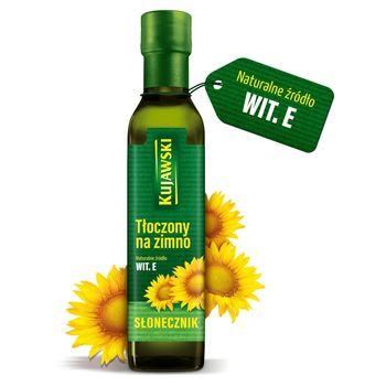 Kujawski Olej ze słoneczników tłoczony na zimno 250 ml