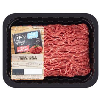 Carrefour Targ Świeżości Mięso mielone wołowe ekstra 300 g