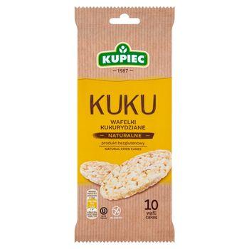 Kupiec Kuku Wafelki kukurydziane naturalne 36 g (10 sztuk)