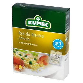 Kupiec Ryż do risotto arborio 400 g