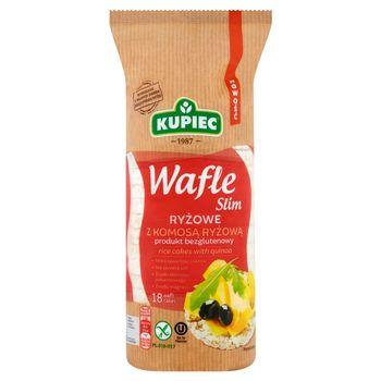 Kupiec Slim Wafle ryżowe z komosą ryżową 90 g (18 sztuk)