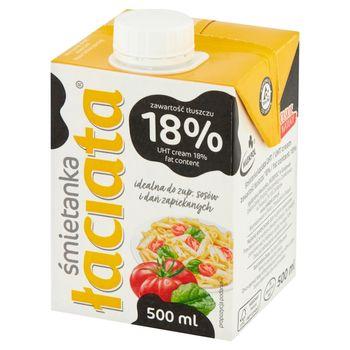 Łaciata Śmietanka 18% 500 ml