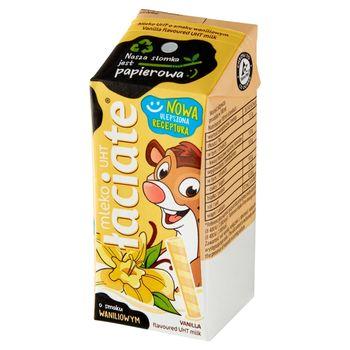 Łaciate Mleko UHT o smaku waniliowym 200 ml